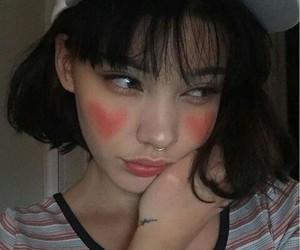 cap, ulzzang, and girl image