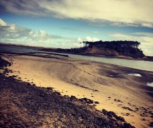 beach, westcoast, and beauty image