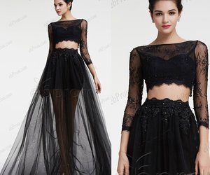 evening dresses, long prom dresses, and two piece prom dresses image