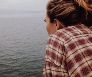 girl, photography, and sea image