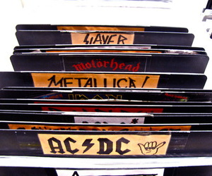 ACDC, metallica, and rock image
