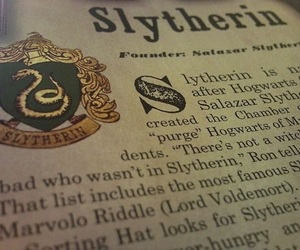 books, draco malfoy, and slytherin image