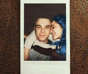 blue hair, fanfiction, and nathaniel buzolic image