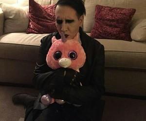 Marilyn Manson, unicorn, and manson image