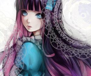 anime girl, anime, and girl image