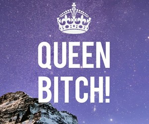 Queen, wallpaper, and queen bitch image
