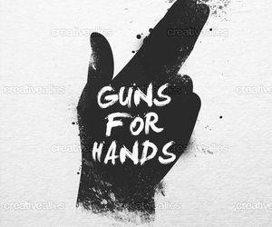 tøp, twenty one pilots, and guns for hands image
