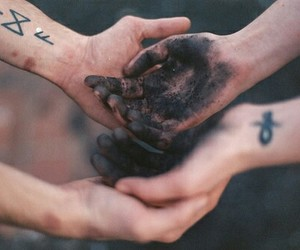 black, hands, and magic image