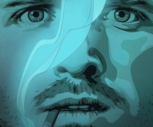 breaking bad, comic, and aaron paul image