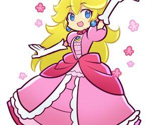 mario bros, nintendo, and princess peach image