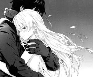 anime, hug, and couple image