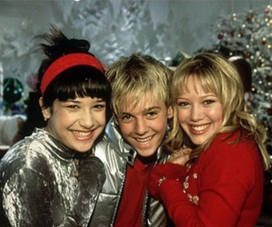 lizzie mcguire, Hilary Duff, and aaron carter image