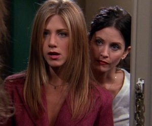 icon, monica geller, and rachel green image
