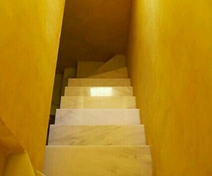 yellow and stairs image