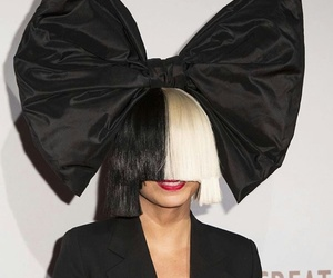 black, black and white, and ️sia image