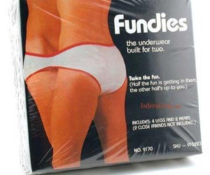 couple, underwear, and funny image