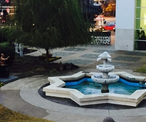 adventure, blue, and fountain image