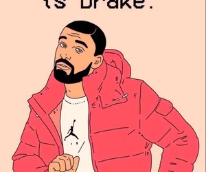 christmas, Drake, and pink image