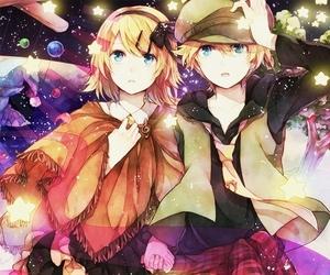 anime, kagamine len, and kagamine rin image