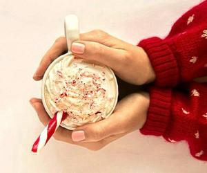 coffee, food, and christmas image