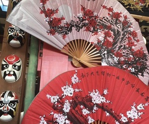 aesthetic, china, and red image
