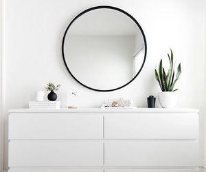 white, mirror, and minimalist image