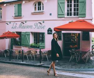 fashion, pink, and travel blogger image
