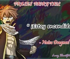 anime, frases, and natsu image