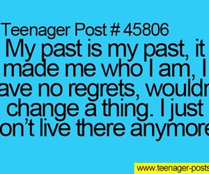 past, text, and teenager posts image