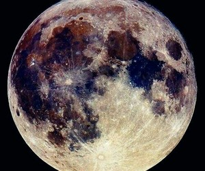 moon, night, and space image