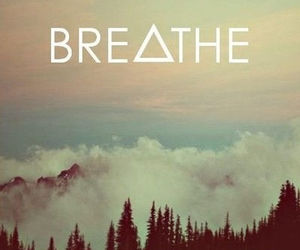 breathe, sky, and quotes image