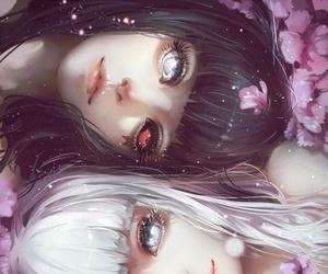 anime, anime drawing, and anime girl drawing image