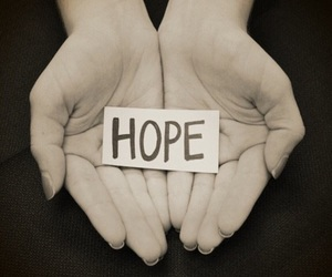 hope, hands, and black and white image