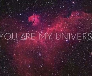 universe, you, and galaxy image