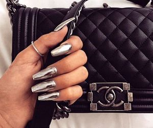 accessories, nails, and shoes image