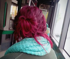 beautiful, pink, and red image