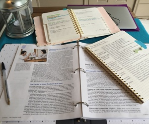 study, book, and notes image