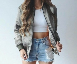 outfit, fashion, and hair image
