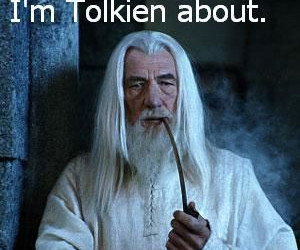 funny, gandalf, and lord of the rings image
