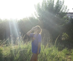 nature, summer time, and sun image