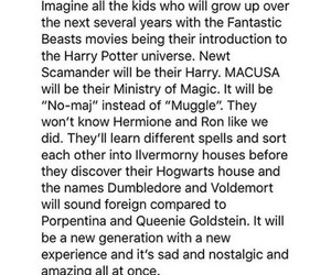 harry potter, jk rowling, and fantastic beasts image