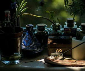 magic, witch, and potions image