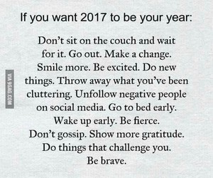 beginning, new year, and inspiration image
