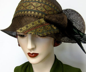 1920s, cloche, and straw image