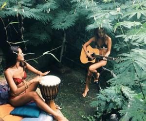 boho, tropic, and indie image