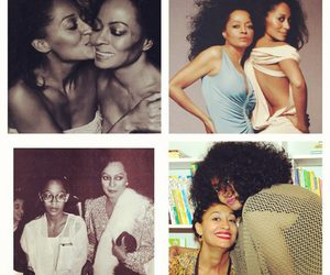 black, Diana Ross, and fashion image