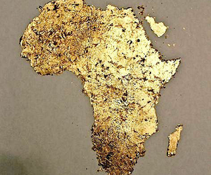 africa and gold image