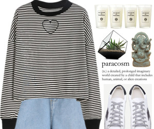 casual, Polyvore, and clothes image