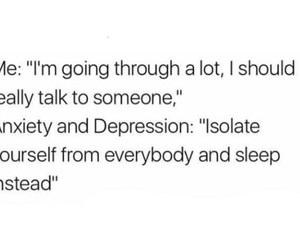 anxiety, depression, and isolation image