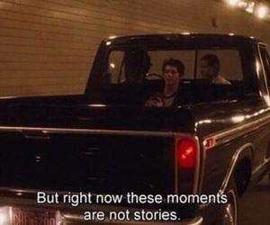 quotes, the perks of being a wallflower, and aesthetic image